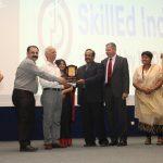 S. Mehrotra PSSCIVE & Mr. Rajiv Mathur honouring Shri K.K.Agnihotri, Honorary Advisor to Education Department School Division Haryana