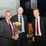 Lars Erik Oden – Project Head SkillEd India & Nathan welcoming guest