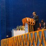 Mr. Rajiv Mathur addressing the School Principals