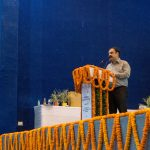 Dr. V.S. Mehrotra, Professor and Head, Curriculum Development and Evaluation Centre (CDSE) and NSQF Cell, PSS-CIVE, NCERT addressing the audience