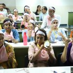 Vocational Teachers in a practical session with Oriflame trainers