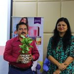 Ms Fatima Seemi Agha, Curriculum Manager, SkillEd India with Mr Amrish Sharma, Coordinator NSQF