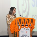 Ms Annu Wadhwa CEO - Beauty & Wellness, Sector Skill Council addressing the Principals