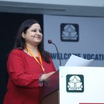 Ms Stuti Tiwari, Training and Field Operations Manager, SkillEd India welcoming the guests and teachers