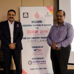 Mr. Rajiv Mathur, CEO SkillEd India (right) with Mr. Vivek Katoch, Director Corporate Affairs- South Asia, Oriflame India