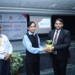 Mr. Rajiv Mathur, CEO SkillEd India and Dr. N.C. Wadhwa, Director General MREI, welcoming Mr. Jatin Gupta, Senior Area Manager, Oriflame India Pvt. Ltd.